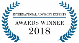 2018 IAE Awards Winner logo